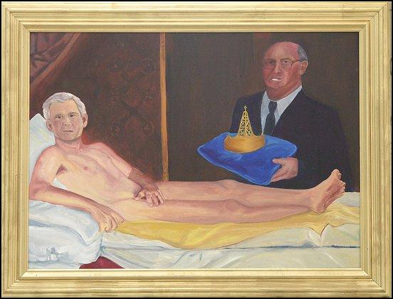 """Карикатура на картину Эдуарда Мане """"Олимпия"""".  Фото с сайта www.canada"""